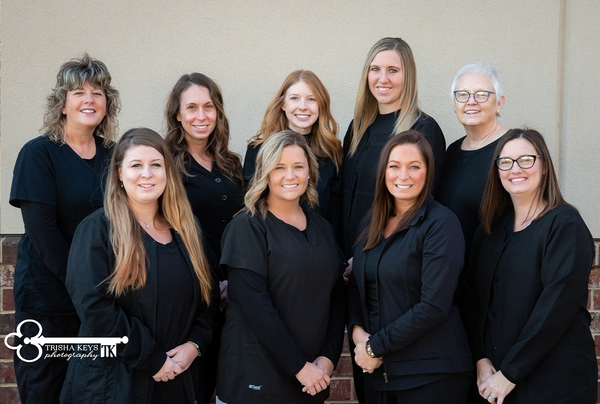 Administrative team at Advanced Dental Care of Springfield