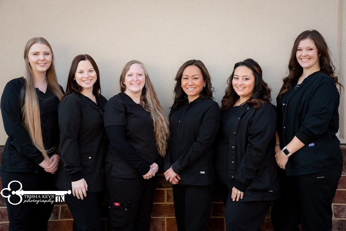 Dental hygienists at Advanced Dental Care of Springfield