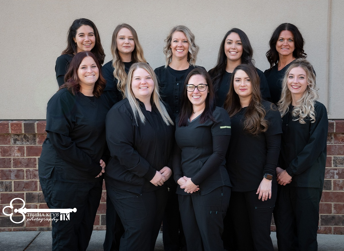 Dental assistants at Advanced Dental Care of Springfield